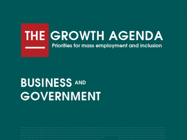 CDE the growth agenda business and government