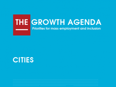 CDE the growth agenda cities