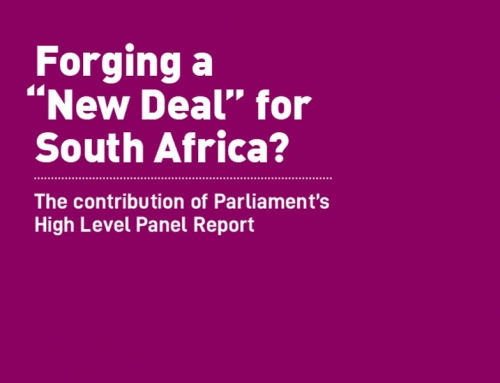 "Forging a ""New Deal"" for South Africa? The contribution of Parliament's High Level Panel Report"