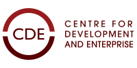 CDE – The Centre For Development and Enterprise Logo