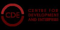CDE – The Centre For Development and Enterprise Logo