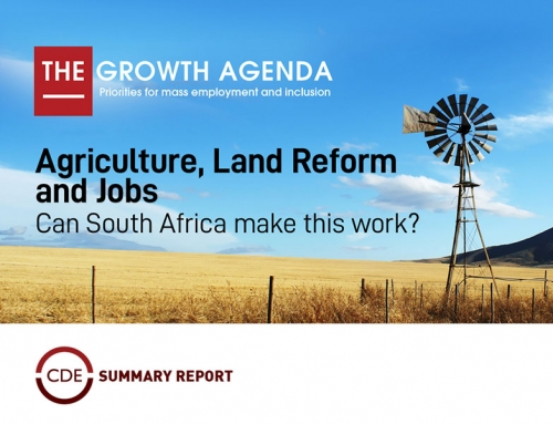 Agriculture, Land Reform and Jobs