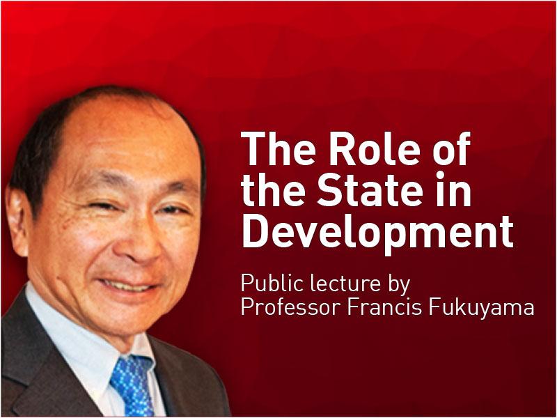 Francis Fukuyama public lecture