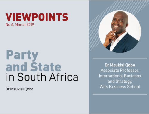VIEWPOINTS | Party and State in South Africa