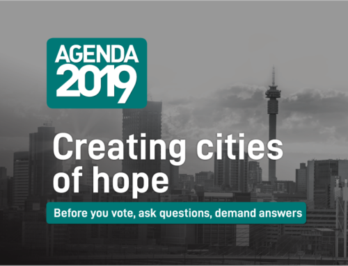 Agenda 2019: Creating cities of hope