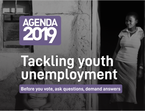 Agenda 2019: Tackling youth unemployment