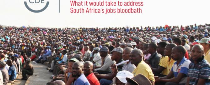 CDE publication on unemployment