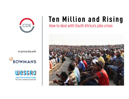 Ten Million and Rising: Public event in Cape Town