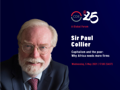 Sir Paul Collier on Capitalism and the poor: Why Africa needs more firms
