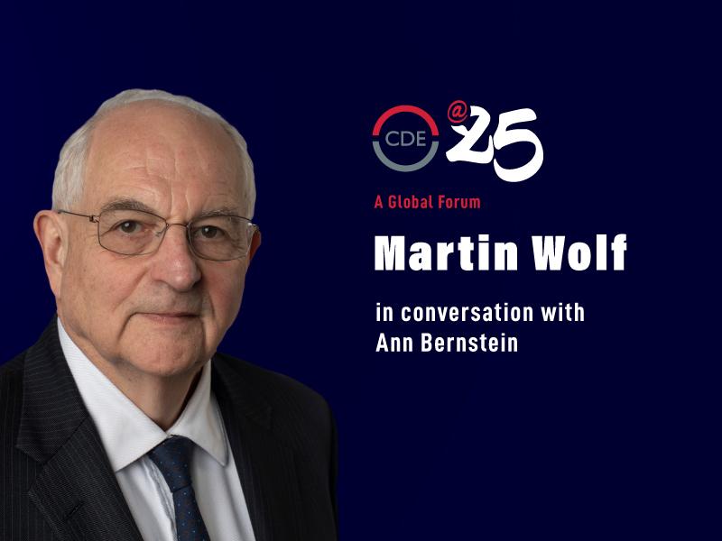 Martin Wolf in conversation with Ann Bernstein