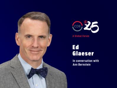 Ed Glaeser in conversation with Ann Bernstein